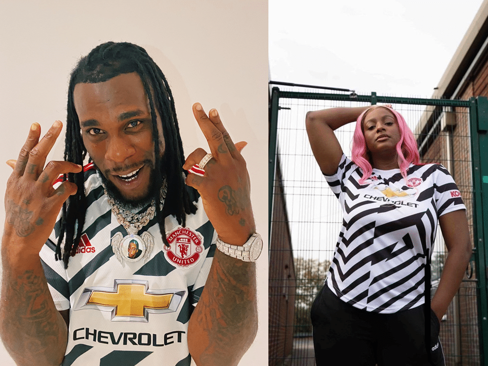 Burna boy and Dj Cuppy